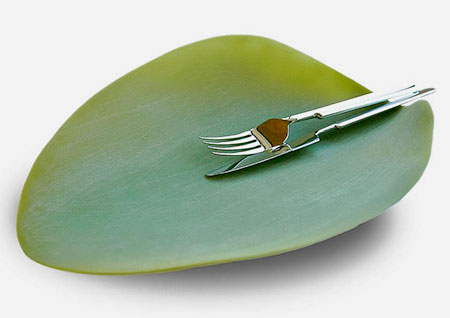 Nature Inspired Leaf Plate