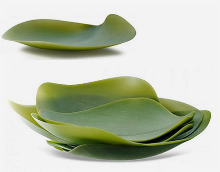 Nature Inspired Leaf Plates