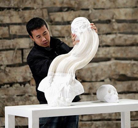 Paper Sculpture by Li Hongbo