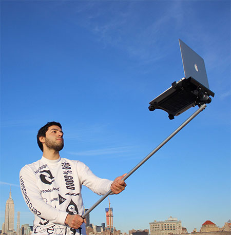 Laptop Selfie Stick