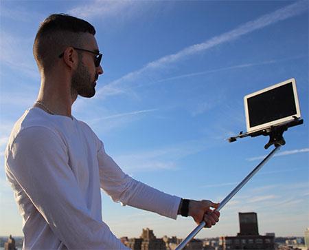 Laptop Selfie