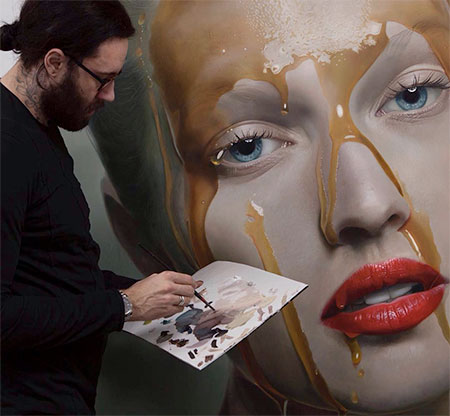 Hyperrealistic Paintings