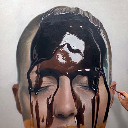 German Painter Mike Dargas