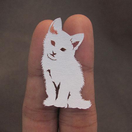 Paper Cut Animals