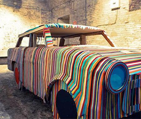 Marco Ercoli Post-it Sculptures