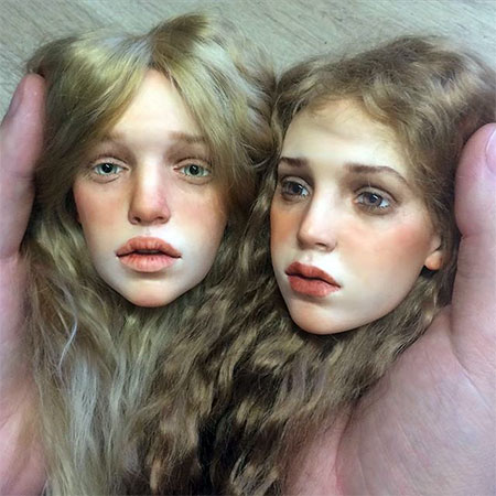 Realistic Doll Face