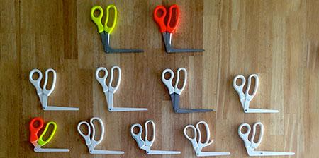Right Angle Scissors