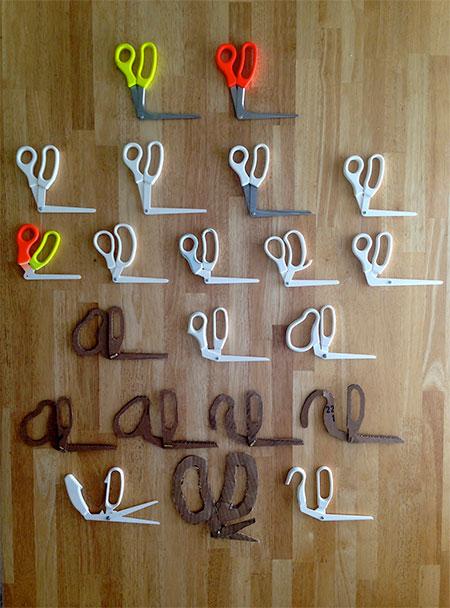 90 Degree Scissors