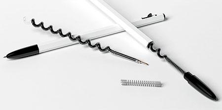 Spiral Ink Cartridge