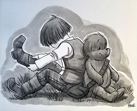 Winnie Star Wars