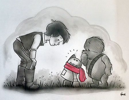 James Hance Star Wars Winnie the Pooh