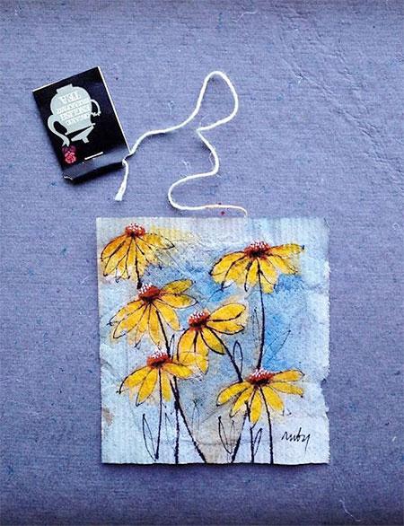 Teabag Art