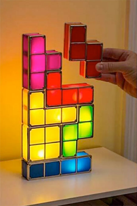Stackable Tetris Light