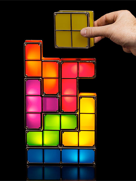 LED Tetris Lamp