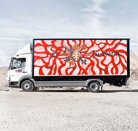 Marina Vargas Truck Art