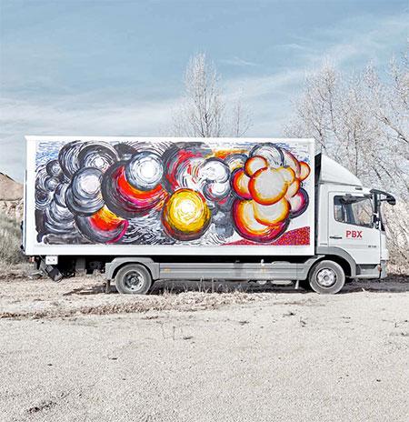 Abraham Lacalle Truck Art