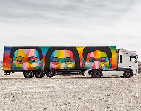 Okuda San Miguel Truck Art