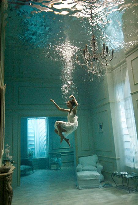 Underwater Room Photography