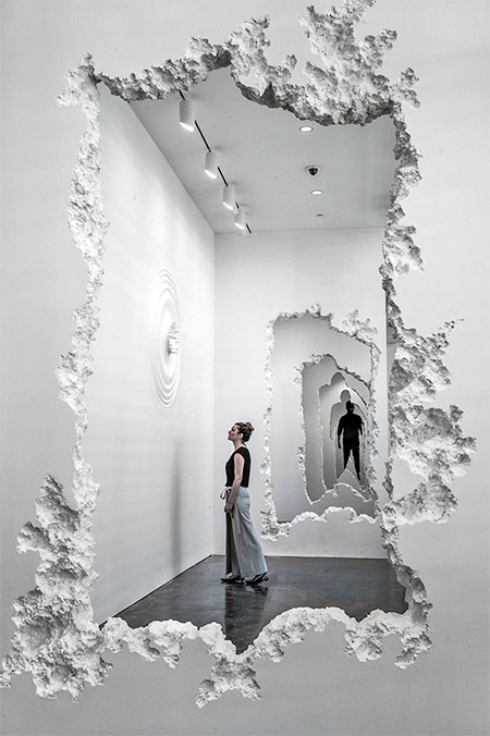 Daniel Arsham Wall Excavation