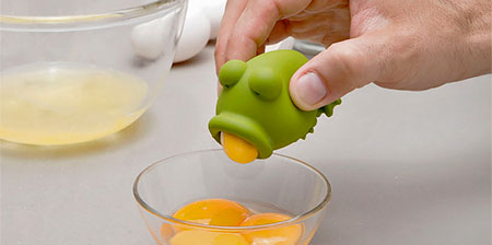 Yolk Frog Egg Separator
