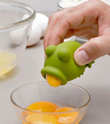 Yolkfrog Egg Separator