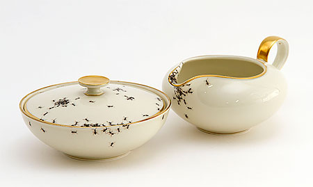 Evelyn Bracklow Porcelain Ants