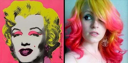 Art Inspired Hairstyles