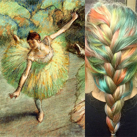 Ursula Goff Art Inspired Hairstyles
