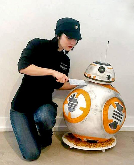 Star Wars Bb 8 Cake