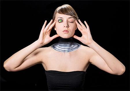 Optical Illusion Body Art