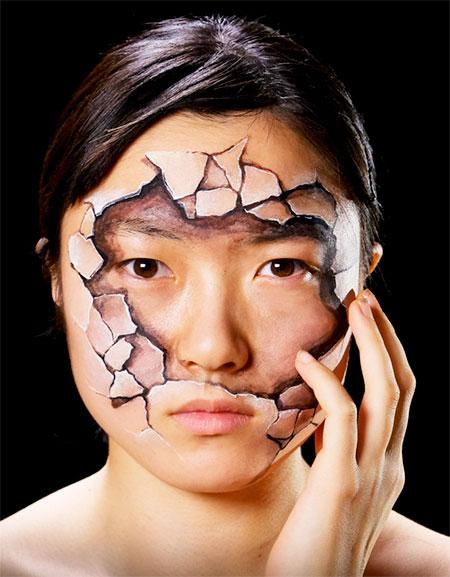 Hikaru Cho Body Paintings