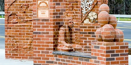 Brick Sculptures