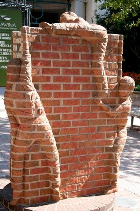 Brad Spencer Brick Sculptures