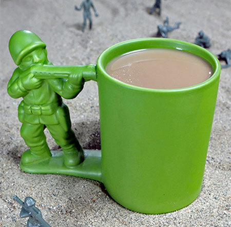 Army Man Coffee Mug