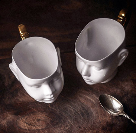 Doll Head Cup