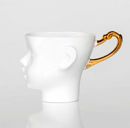 Doll Head Coffee Mugs