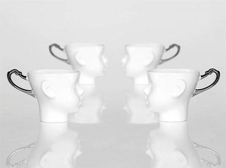 Doll Head Tea Cups