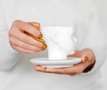 Doll Head Tea Cup