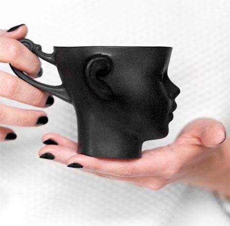 Doll Head Coffee Mug