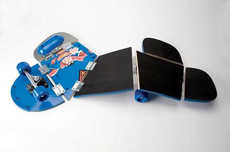 Dario Escobar Skateboard Sculptures