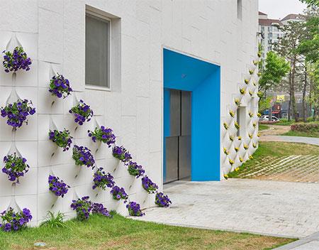 Flower Pot Facade