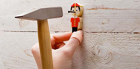 Nail Holder Finger Saver