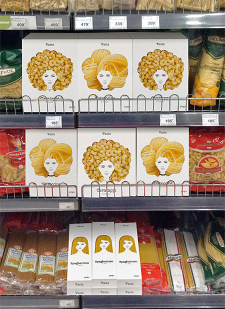 Creative Pasta Packaging