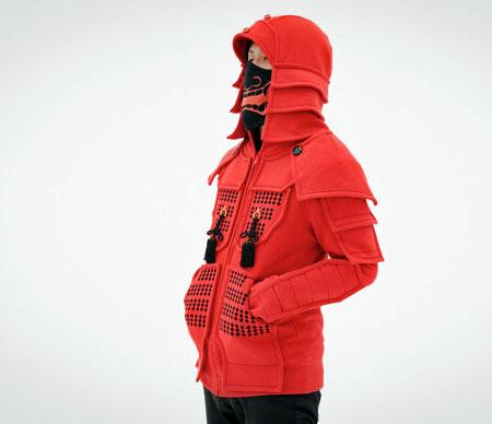 Samurai Armour Hoodie