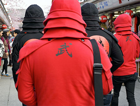 Japanese Samurai Hoodies