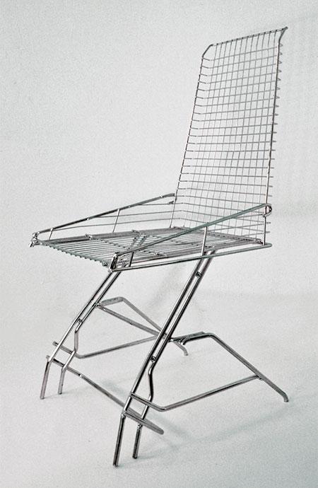 Etienne Reijnders Shopping Cart Chair