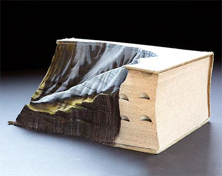 Guy Laramee Book Mountains