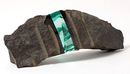 Glass Rock Sculptures