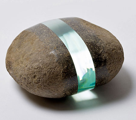 Glass and Stone Sculptures
