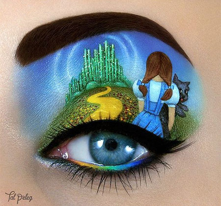 The Wizard of Oz Eye Makeup Art